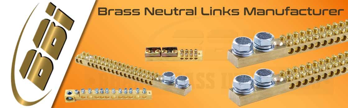 Brass Neutral Links Manufacturer